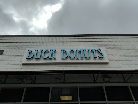 The donuts are made to order here as well!
