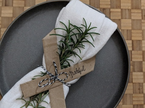 DIY Thanksgiving Place Setting Reuse Paper Bags (1)
