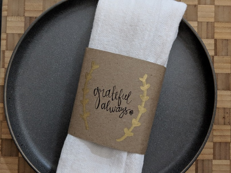 DIY Thanksgiving Place Setting Reuse Paper Bags (2)