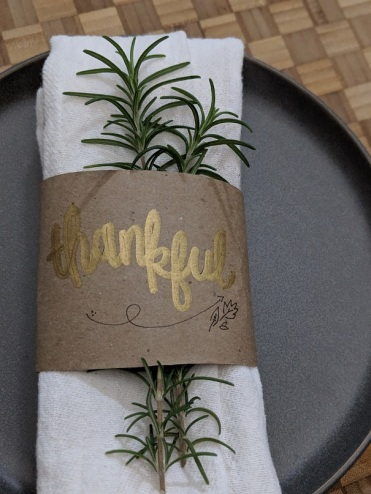 DIY Thanksgiving Place Setting Reuse Paper Bags (5)