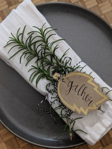 DIY Thanksgiving Place Setting Reuse Paper Bags (6)